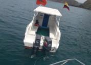 Embarcacion para turismo 16 pasajeros