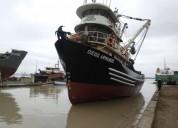 Se vende barco pesquero industrial
