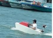 Mini bote con motor 3 5hp 2 tiempos barcos y lanchas