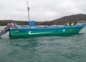 Fibra lista para trabajo barcos y lanchas