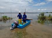 Se vende bote de fibra de vidrio y motor fuera de borda yamaha barcos y lanchas