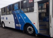Excelente bus urbano mercedes benz 1721