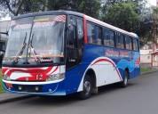 Se vende bus con puesto de trabajo