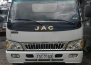 Vendo excelente jac 1048 2012 en quito