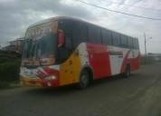 Vendo bus con derechos y acciones de coop transporte tosagua.