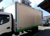 Excelente furgon termico en balzar