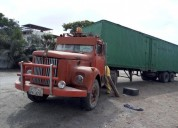 Cabezal y container en venta en coronel marcelino maridueña