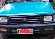Vendo camioneta mitsubishi hidraulica 4x4 en el carmen