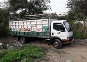Vendo vehiculo mitsubishi canter ano 98