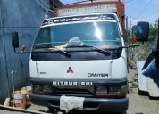 Mitsubishi canter con turbo interculer