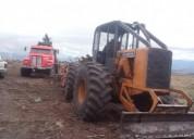Tractor forestal jhonn deere.