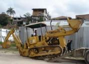 Tractor trascabo caterpillar, contactarse.