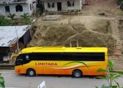 Bus interprovincial en el carmen. contactarse.
