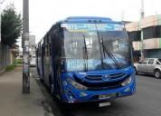 Excelente bus de corredor sur occidental en quito