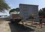 Venta de plataforma para trailer en manta