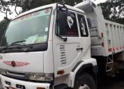 Vendo volqueta nissan ud trucks sencilla 8m3.