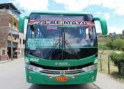 Excelente bus urbano internacional americano en loja