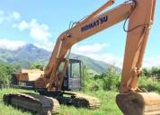 Excavadora komatsu 3