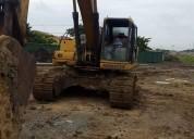 Excavadora komatsu año 2000.