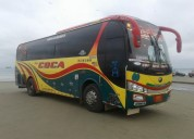 Vendo bus yutong 2011