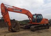 Excelente excavadora doosan dx 2013 en quito