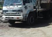 Vendo excelente camion ford con motor mb en cuenca