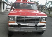 Camion con pluma hidraulica en cuenca