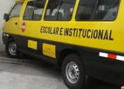 Furgoneta escolar en guayaquil, contactarse.