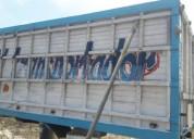 Excelente furgon de madera enfibrado en puerto lópez