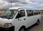 Vendo excelente furgoneta de pasajeros kia pregio en quito