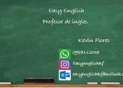 Clases de ingles con profesor nativo