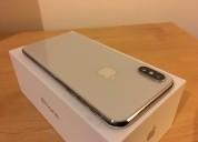 Apple iphone x - 256gb - gris espacial