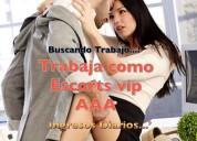 Trabajo/empleo para chicas escorts vip en ecuador