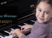 Clases de musica a domicilio quito, profesor piano