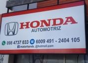 Honda repuestos automotrices piezas y partes