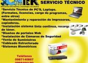 Servicio técnico de pc´s, laptops, impresoras...