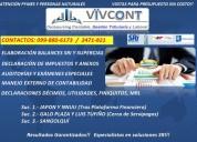 Impuestos contabilidad vivcont