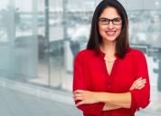 Señorita en ventas empresarial comisionista;