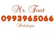 Mr. foot podologia 0993965066