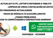 Actualiza tu computadora guayaquil