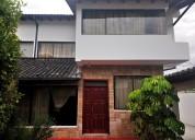 De oportunidad venta casa 3 plantas valle chillos