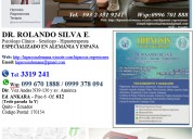 Salud mental hipnosis regresiones terapia dr.silva