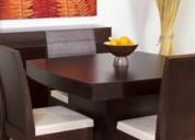 Muebles de sala dormitorio y comedor