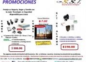 Sistemas de seguridad para casas, empresas y ofic