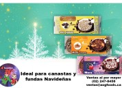 Chocolate ideal para regalo empresarial. chocom