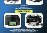 Servicio tecnico de impresoras epson
