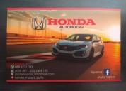 Honda repuestos y accesorios