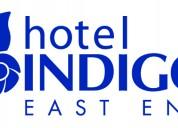 Ofertas de trabajo disponibles en indigo hotel usa