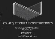 Arquitecto, diseño y construcción.