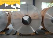 Venta de aluminio liso en planchas o bobinas